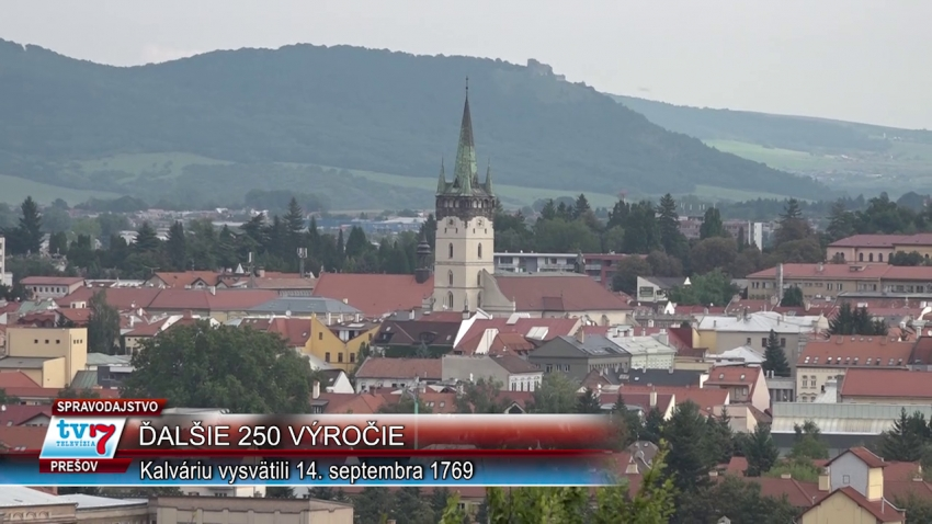 """Výročie """"250"""", Kalvaria v Prešove"""