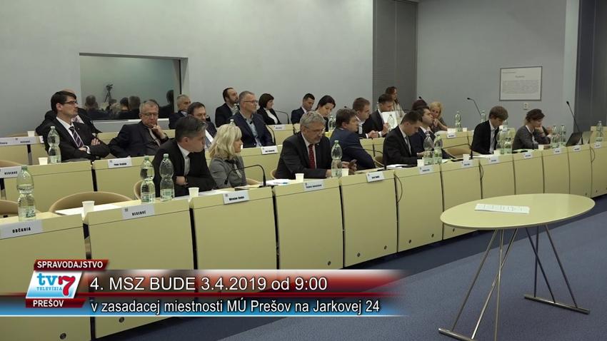 Program 4. zasadnutia MsZ Prešov