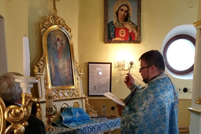 Otec Michal Pavlišinovič posvätil