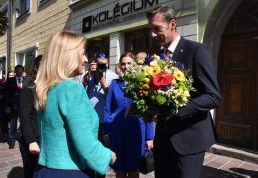 Prezidentka na návšteve Prešovského kraja