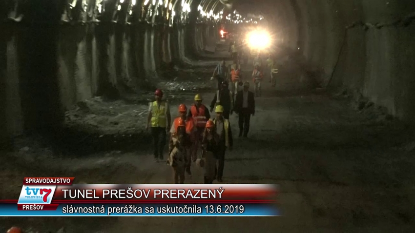 Tunel Prešov prerazený