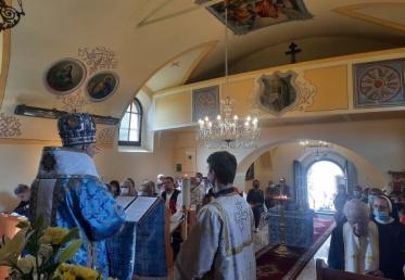 Obnovený gréckokatolícky chrám